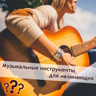 Музыкальные инструменты для начинающих