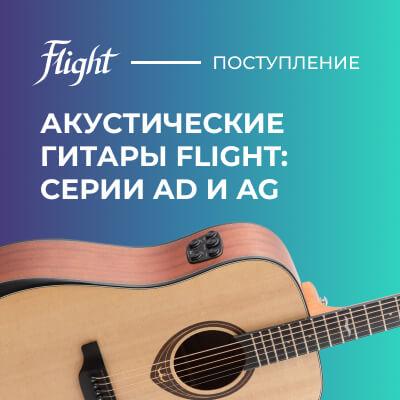 Новое поступление гитар Flight