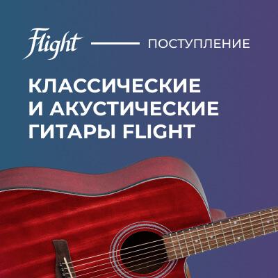 Акустические и классические гитары FLIGHT