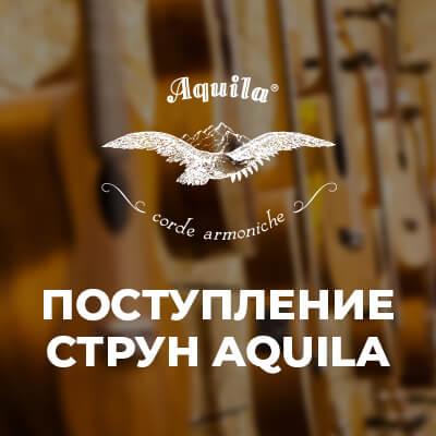 Большое поступление струн  Aquila для классической гитары