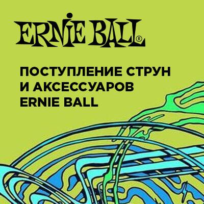 Поступление струн и аксессуаров ERNIE BALL