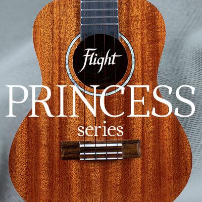 Поступление укулеле Flight серии Princess