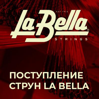 Поступление струн La Bella